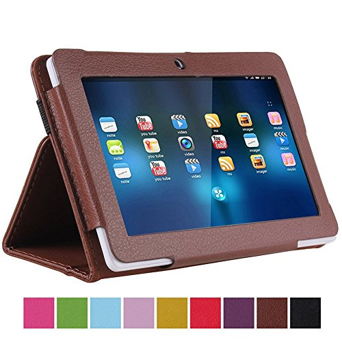 NSSTAR PU leather Slim 7 inch tablet Folio Protective Cov...