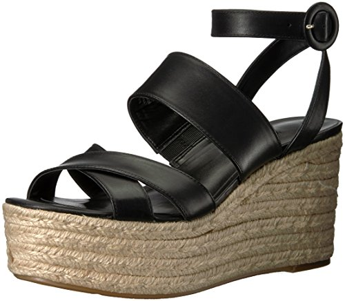 Mujer para de West Cuero negro tacón Zapatos Nine Natural NWKUSHALA wFaAw0qH