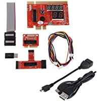 OTGO 1Pc KQCPET6 V6 Type B Debug Desktop Laptop Computers Mobile Phone Diagnostic Card For PCI/PCIE/LPC/MiniPCI-E/EC