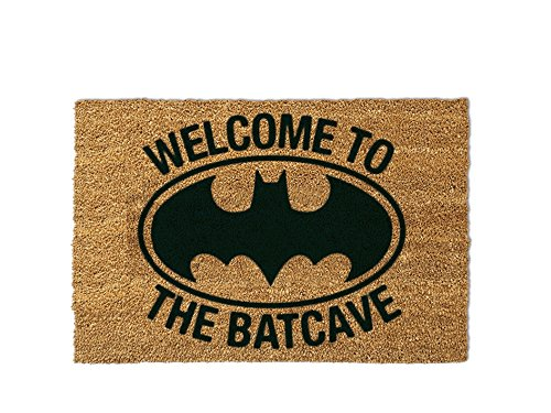 DRW - Felpudo Welcome to The Batcave Fibra de Coco 60x40 cm Original