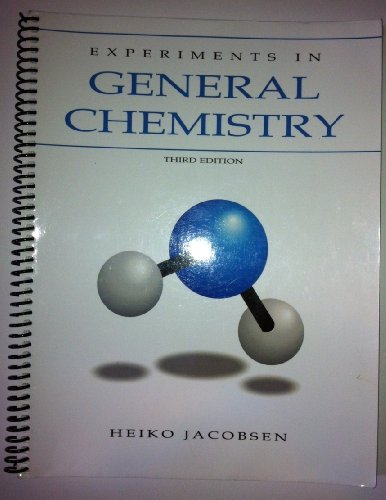 Experiments in general chemistry jacobsen 9781598710618 amazon experiments in general chemistry jacobsen 9781598710618 amazon books fandeluxe Images