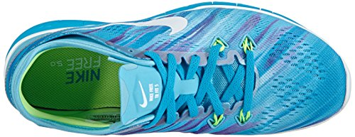 Fit Free mujer Lime Lagoon 0 Blue Clearwater Nike Flash Zapatillas 5 5 Tr para White xIaW8w