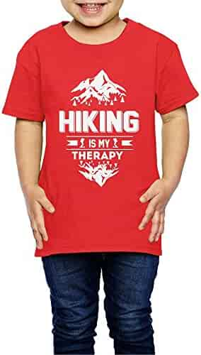 Yishuo Boys Hiking Wander Casual Style Outdoor Shirts Short Sleeve Pink 4 Toddler