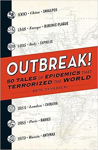 Outbreak  Tales Of Epidemics That Terrorized The World Beth Skwarecki  Amazon Com Books