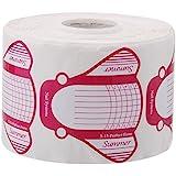 Crisnails® Moldes Guías Pegatinas Formas Para Manicura Uñas Tips Extenciones 500pcs (Mariposa)