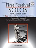 img - for WF121 - First Festival Solos for Clarinet (with Piano Accompaniments) BK/CD book / textbook / text book