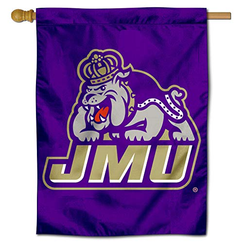 College Flags and Banners Co. James Madison Dukes Double Sided House Flag