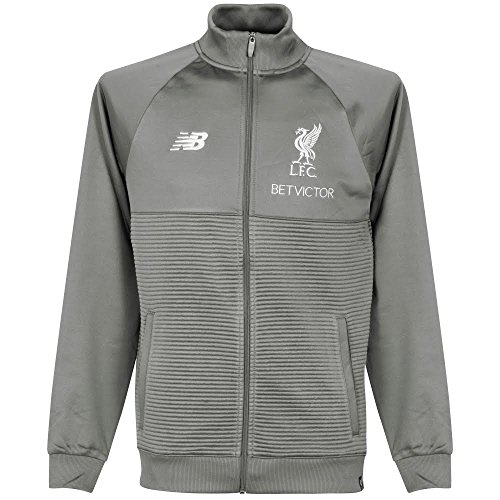 (New Balance 2018-2019 Liverpool Training Jacket- Grey S)