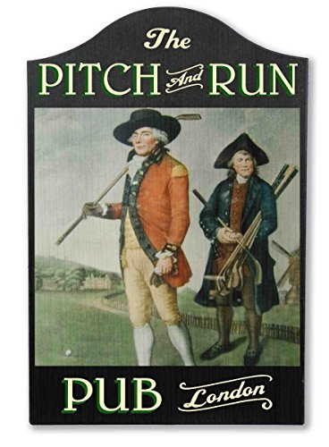 THOUSAND OAKS BARREL Pitch & Run Vintage Golf Pub -