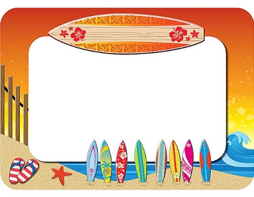 Teacher Created Resources Surf's Up Name Tags (5361)