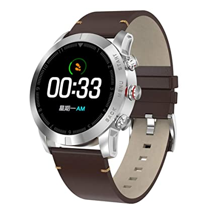 ZLOPV Pulsera Smart Watch Hombres Impermeable Bluetooth ...