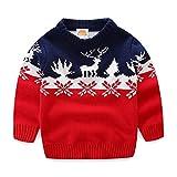 #8: Mud Kingdom Boys Christmas Sweaters Xmas Reindeer Clothes