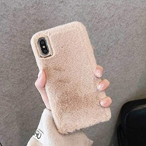 Color : Khaki, Size : For iPhone 7 RUNEEE For iPhone 11 Pro MAX c/álido y Confortable for el iPhone XS MAX XR 6 7 8 6S Plus 8 Plus Estuche