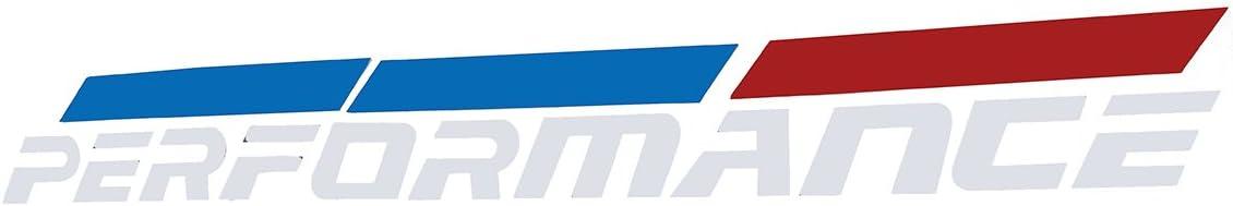 Alamor 50 X 5.5 Cm Performance Autocollants Pour Voiture Accessoires Ext/érieur Pour Bmw E46 E39 E90 F30 F34-Noir