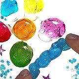 6 x Zauber Schleim in der Dose Mitgebsel Kindergeburtstag Kinderparty Mitbringsel Töpfchen Adventskalender Kinderparty