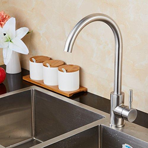 NewBorn Faucet Wasserhähne Warmes und Kaltes Wasser Größe Qualität der Spüle Geschirr, Küche 304 Edelstahl Küche Leitungswasser
