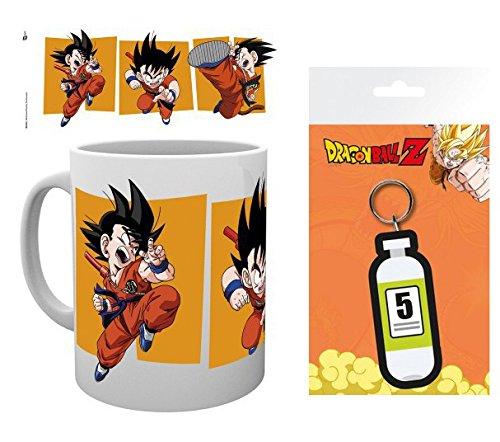 1art1 Dragonball Z, Goku Taza Foto (9x8 cm) Y 1 Dragonball Z ...
