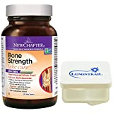 New Chapter Bone Strength Calcium Supplement with Vitamin K2, D3-120 ct Slim Tabs