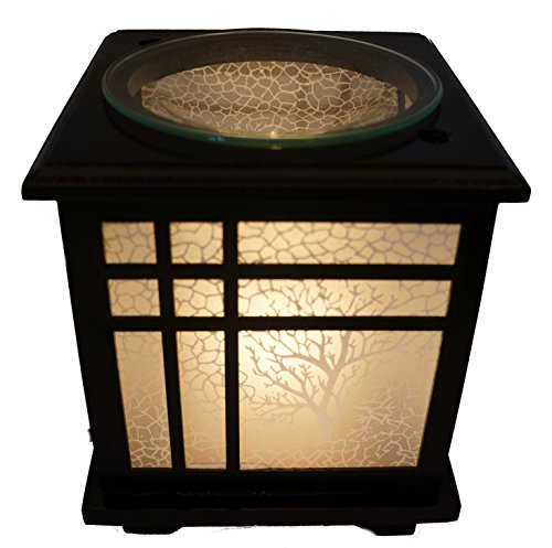 Coo Candle Electric Candle Warmer or Oil Burner Lamp Combo - Bonsai (Electric Tart Burner Soy Candle)