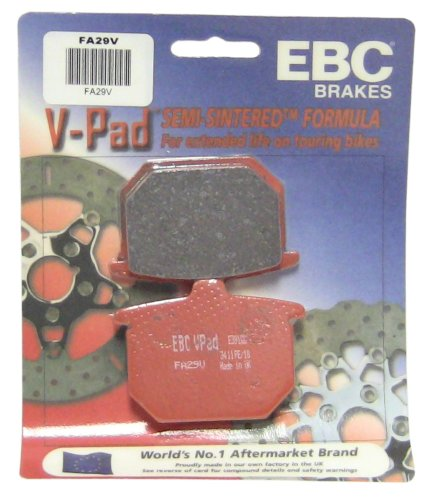 EBC Brakes FA29V Semi Sintered Disc Brake Pad
