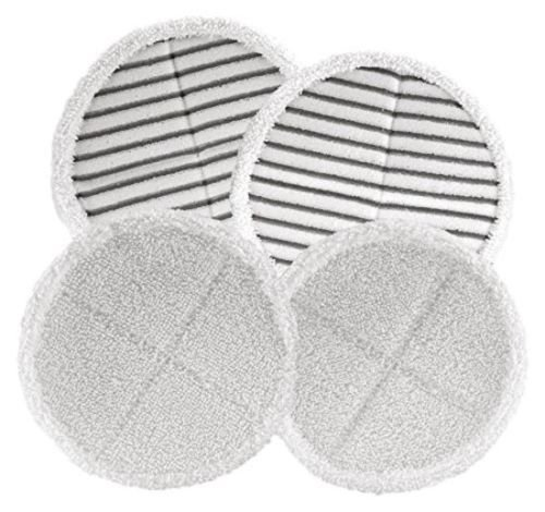4 Pack Mop Pads for Bissell Spinwave 2039A 2124 Powered Hard Floor Mop by Ximoon (Image #7)
