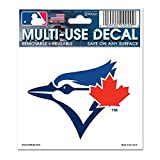 "WinCraft MLB Toronto Blue Jays 84467012 Multi-Use Decal, 3"" x 4"""