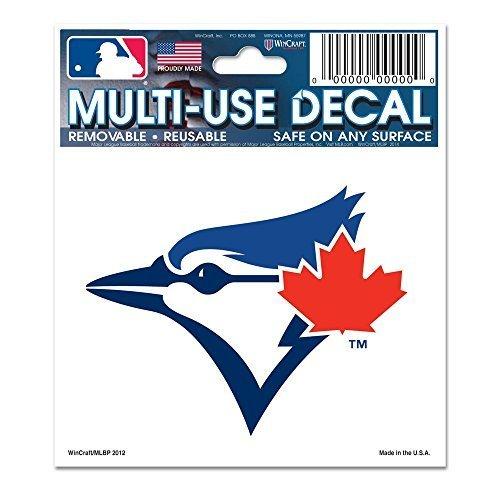 (WinCraft MLB Toronto Blue Jays 84467012 Multi-Use Decal, 3