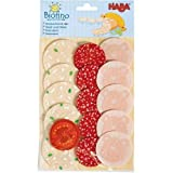 haba meat - HABA Play Food Sliced Luncheon Meats (Fabric) by Haba