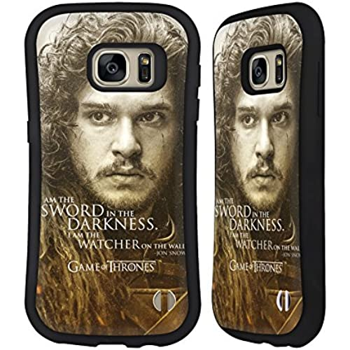 Official HBO Game Of Thrones Jon Snow Character Portraits Hybrid Case for Samsung Galaxy S7 Sales