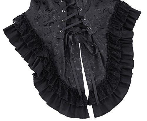 1 la victorienne Bp223 age Gothik Veste avec Jacket Tailcoat Poque Belle et dentelle BP22303 qazEOn