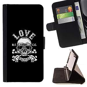 Momo Phone Case / Flip Funda de Cuero Case Cover - Máquina de amor;;;;;;;; - Samsung Galaxy J3 GSM-J300