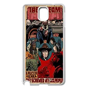 TV The Walking Dead Carl Hard Plastic phone Case Cover+Free keys stand For Samsung Galaxy NOTE4 Case Cover ZDI046443