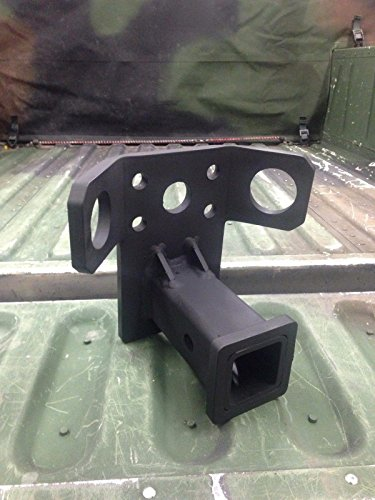 """Used, M998 HUMVEE HMMWV Bolt on 2"""" Heavy Duty Receiver Hitch for sale  Delivered anywhere in USA"""