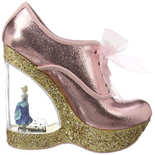 Irregular Choice Home Before 12 - Zapatos Mujer Dorado - dorado
