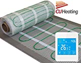 Electric underfloor heating Kit 1.5m2 200W/m2 with touch screen thermostat LIFE TIME WARRANTY