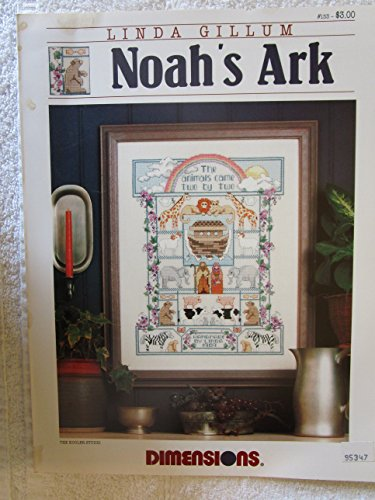 Noah's Ark Counted Cross Stitch Pattern Craft Book