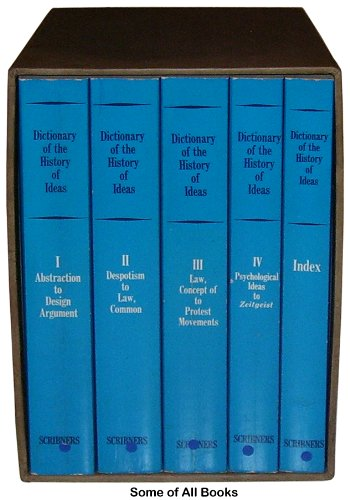 Dictionary of the History of Ideas