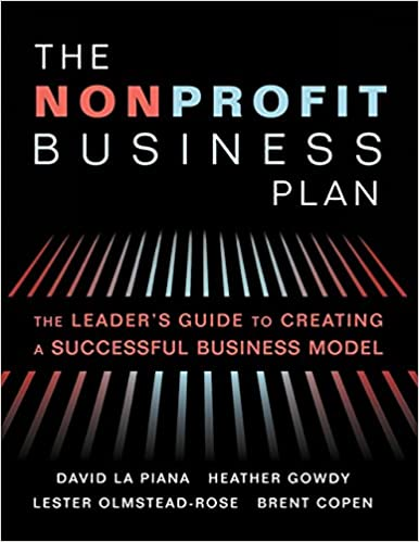 Nonprofit business plan books