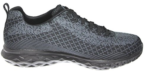 Synergy Skechers Noir SK51188 Homme Switch Power Charbon Baskets 5xWZaqAx