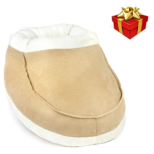 Snug In Boot Natural Foot Warmer - NO Electricity or USB Required – Instant Warmth - Keeps Feet and Ankles Warm – Solution to Poor Circulation, Arthritis in the Feet – Use at Home or Working in the Office - Soft Lightweight and Cosy, - Ideal Relaxation Gifts for Mum and Dad and the Whole Family