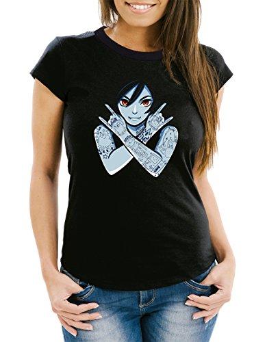 Vampire Girl T-Shirt Girls Black Certified Freak