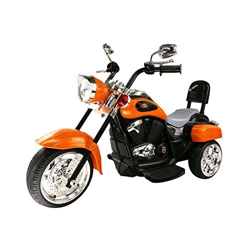 MIGOTOYS Trike Motorcycle Powered Ride on Motorcycle for Kids, 1- 3 Year Old -
