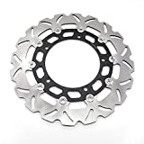 FXCNC Racing Motorcycle Floating Front Brake Disc Rotor Fit For YAMAHA YZF R15 2013 2014 2015 2016 2017 Stainless steel & Aluminum alloy