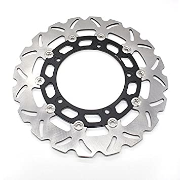 Amazon Com Fxcnc Racing Motorcycle Rear Brake Disc Rotor Fit For