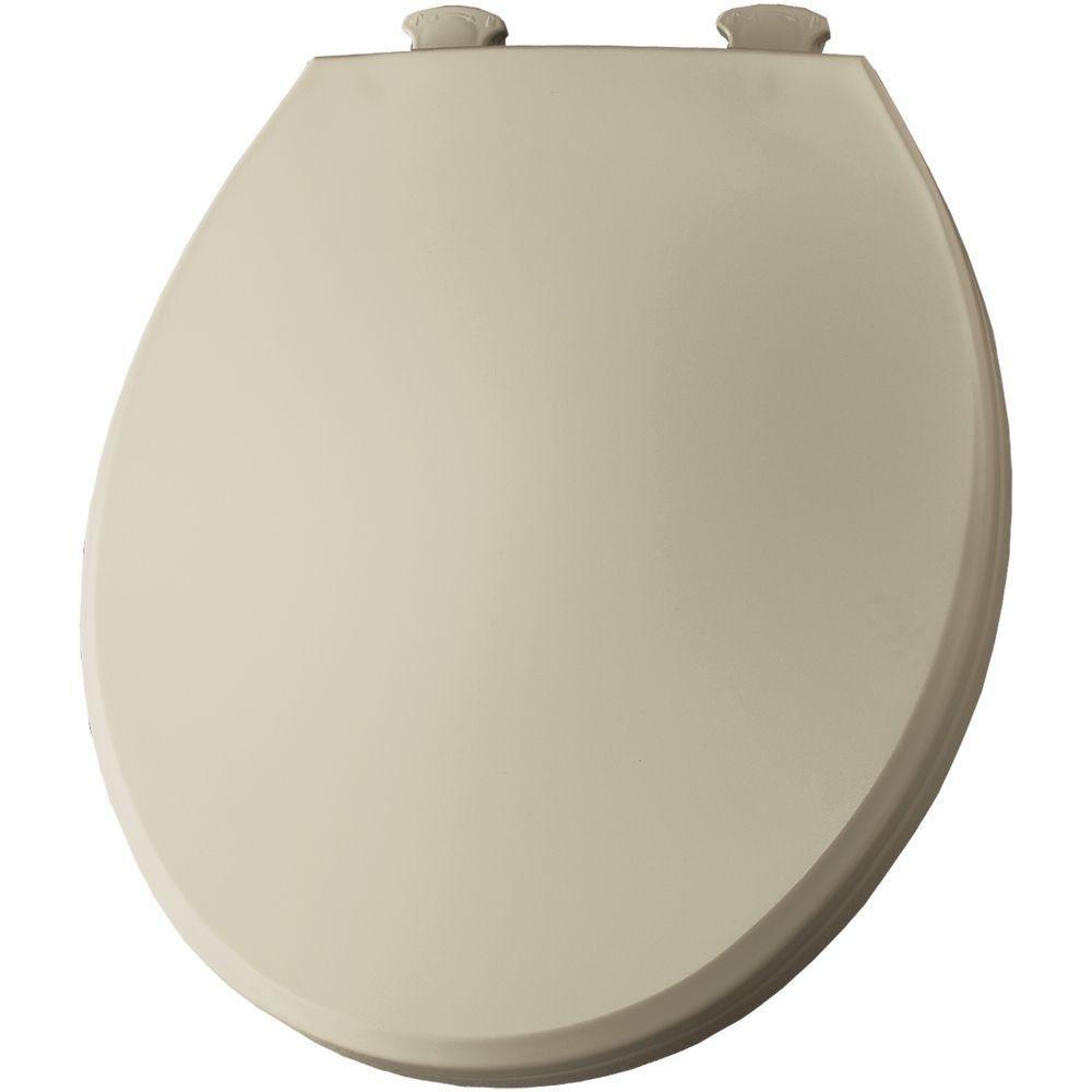 Bemis 800EC000 Plastic Round Toilet Seat with Easy Clean and Change Hinge   White     Amazon comBemis 800EC000 Plastic Round Toilet Seat with Easy Clean and  . Round Toilet Seat Covers. Home Design Ideas