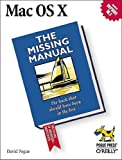 Mac OS X: The Missing Manual, David Pogue, 0596000820