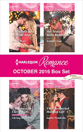book cover of Harlequin Romance October Box Set