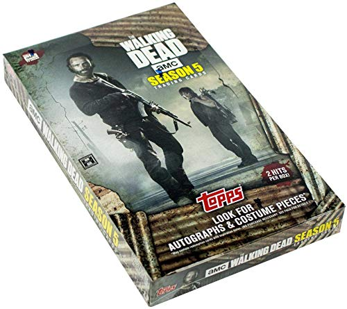 2016 Topps Walking Dead Season 5 Hobby Collector's Cards - 24 packs of 6 cards -