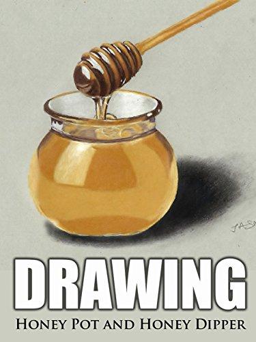 Clip: Drawing Honey Pot and Honey Dipper (And Dipper)
