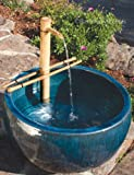 """Bamboo Accents Adjustable Water Spout (W/ Pump) Large (18"""")"""